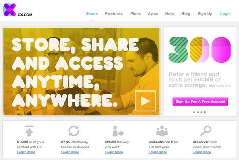 Cx. Un cloud pour stocker, partager et collaborer sur vos fichiers. | Time to Learn | Scoop.it