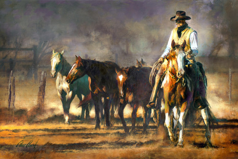 A Good String - Chris Owen, the Art of the Cowboy | Western Lifestyle | Scoop.it