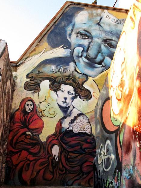 Granada Street Art | World of Street & Outdoor Arts | Scoop.it
