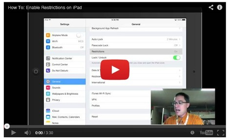 How To: Enable Restrictions on iPad | Chisholm iPads | Scoop.it