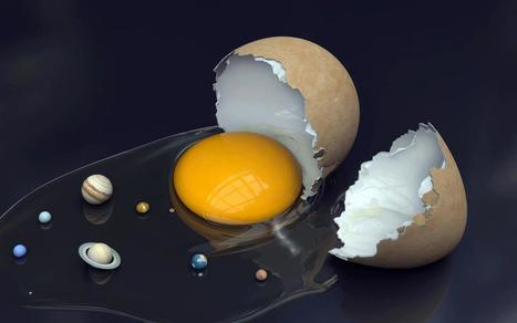 Egg solar system - Concept Art By Rachana Bhatawdekar | I didn't know it was impossible.. and I did it :-) - No sabia que era imposible.. y lo hice :-) | Scoop.it