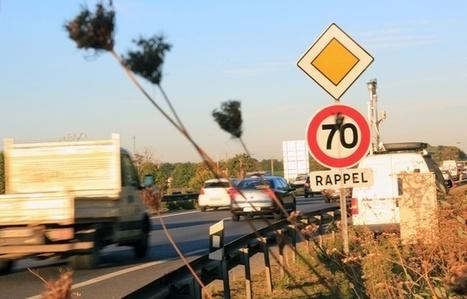 Pollution, accidents, bouchons: Pourquoi la vitesse va repasser à 90 kmh sur la rocade de Rennes | Comment va ma Planète ? | Scoop.it