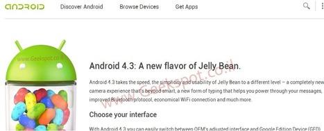 Android 4.3: se podrá cambiar entre OEM UI y Stock UI | tecnología y aprendizaje | Scoop.it