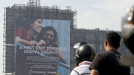 Free Basics, l'India boccia l'internet dei poveri di Facebook | Social Media War | Scoop.it