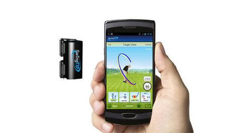 Technologie - Golf: un nouveau gadget pour travailler son swing | Nouvelles du golf | Scoop.it
