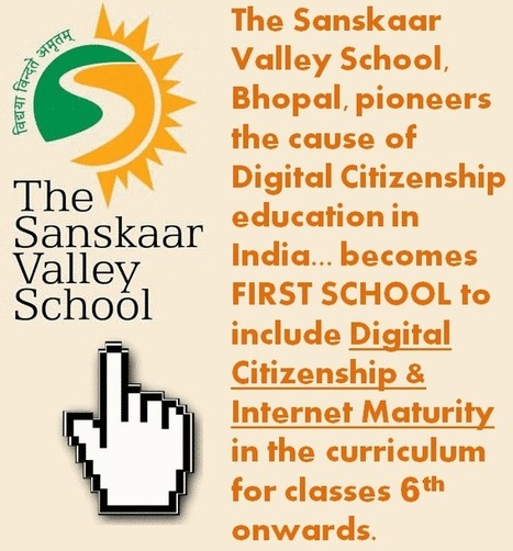 Sanskaar Valley Takes Lead to Make Students Internet Mature - EdTechReview™ (ETR) | EdTechReview | Scoop.it