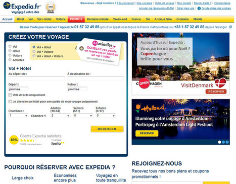 Expedia, Opodo, Edreams : la nébuleuse juridique des agences en ligne borderline | e-Tourism | Scoop.it