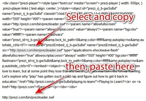 Understanding Web 2.0 Embed Codes - Teach Amazing! | Boîte à outils du web 2.0 | Scoop.it