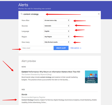 How to Use Google Alerts for Brand Monitoring and Competitive Intelligence   MarketingHits   Scoop.it