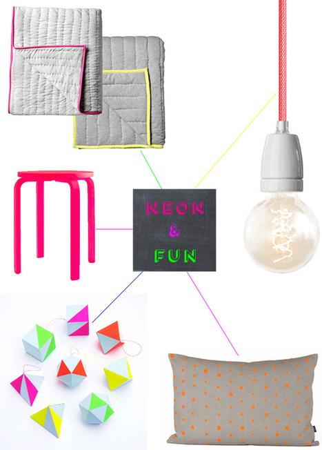 Happy Interior Blog: 5 Happy Inspirations: Neon & Fun | Interior Design from St. Catherine University | Scoop.it