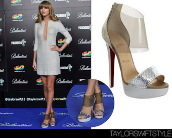 Celebrity In Christian Louboutin : Dufoura Sandals Christian Louboutin 140mm High Heels Silver | Amazing Hello Kitty Bags | Scoop.it