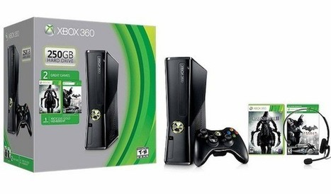 Xbox 360 250GB Spring Value bundle now available in the US for $299 | techute | Scoop.it