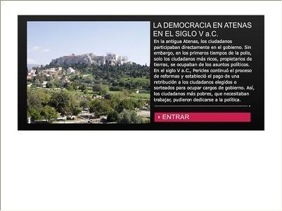 La democracia en Atenas en el siglo V a.C. - Recursos educ.ar | Griego clásico | Scoop.it