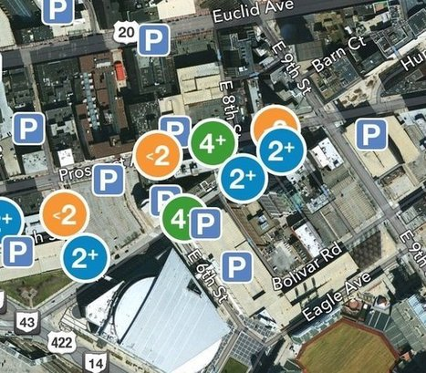 Parking app aims to guide downtown Cleveland drivers to open parking spaces - Plain Dealer | DWBE Programs | Scoop.it