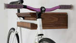 Cyclist creates artistic solution to bike storage | Local Economy in Action | Scoop.it