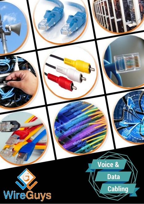 Voice and Data Cabling from Wireguys Inc. by John Davis | Network cabling | Scoop.it
