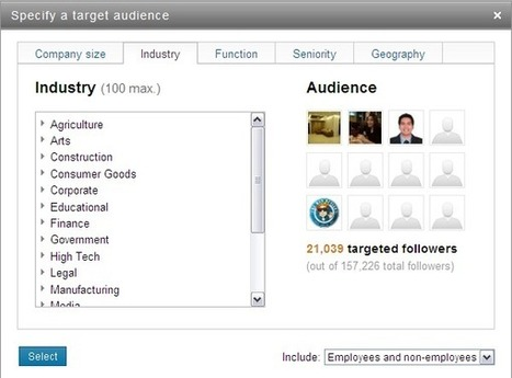 LinkedIn Blog » Enabling More Relevant Conversations between Companies and Followers | LinkedIn Marketing Strategy | Scoop.it