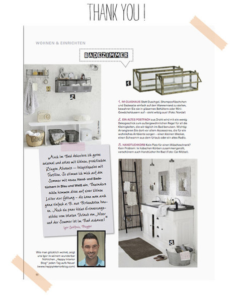 Happy Interior Blog: Featured in Interiors Magazine 'Landhaus Living' | Interior Design & Decoration | Scoop.it