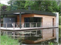 Une maison contemporaine sur un lac (diaporama) - Batiactu   Architecture pour tous   Scoop.it