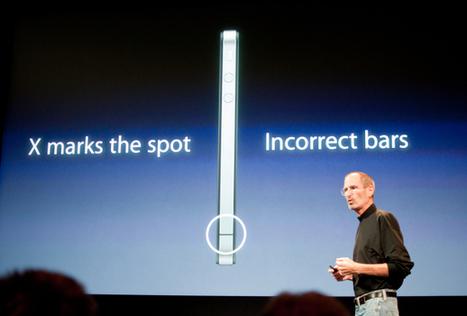 Steve Jobs grits teeth, solves the iPhone 4 'crisis'   Customer Service Case Study - Apple   Scoop.it