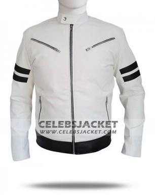 King Of Fighters Kyo Kusanagi White Leather Jacket   Celebsjacket.com   Scoop.it