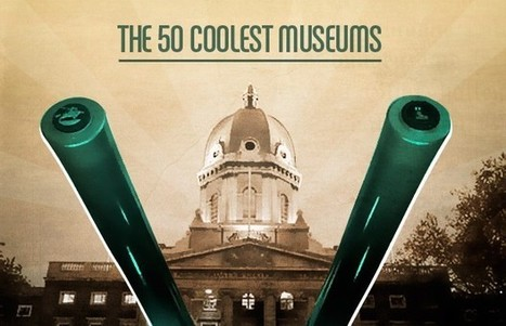 The 50 Coolest Museums | AUDITORIA, mouseion Broadband | Scoop.it