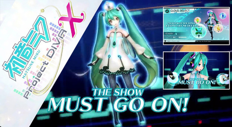 VG. Hatsune Miku: Project DIVA X llegara a América | Noticias Anime [es] | Scoop.it