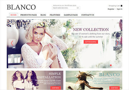 15 Good and Affordable Ecommerce WordPress Themes | Ecommerce | Scoop.it