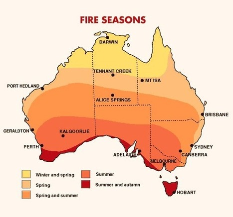 Waarom zorgt vuur in Australië voor zo'n probleem? | aardrijkskunde | Scoop.it