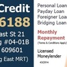 Get Fast personal loan with Quick Credit Pte Ltd
