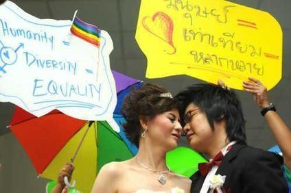 La Thaïlande pourrait aussi autoriser le mariage gay | Thailande Info | Scoop.it