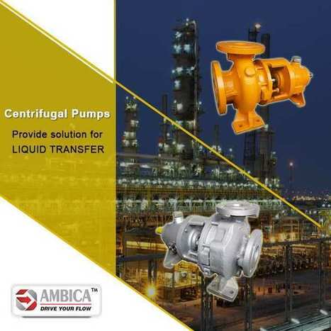 Ambica Machine Tools - A Well-Known Centrifugal Pump Manufacturer | Buy the Best Pump from Centrifugal Pump Supplier | Scoop.it