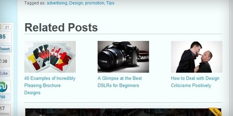 Code generate Related posts with Thumbnails in Blogspot | Sharing the best tips for you and for me | SEO | Scoop.it