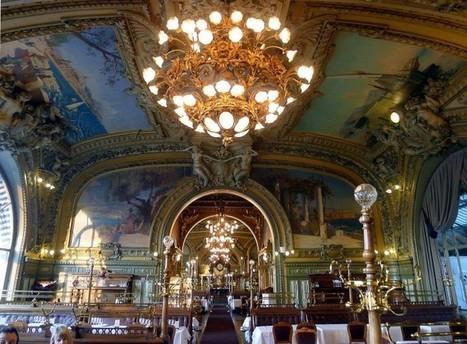Le Train Bleu, classé MH, vend son mobilier d'origine | L'observateur du patrimoine | Scoop.it