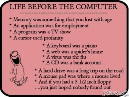 Life before the computer... | Brilliant Marketing tool | Scoop.it