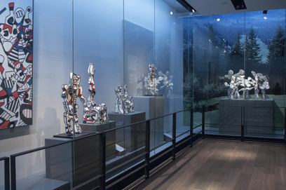 Aéroports de Paris expose Jean Dubuffet – L'Hourloupe, de la peinture au monument, à l'Espace Musées de Paris-Charles De Gaulle | L'actu culturelle | Scoop.it