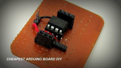 How to make a cheap Attiny Arduino Board | embedded fun | Scoop.it