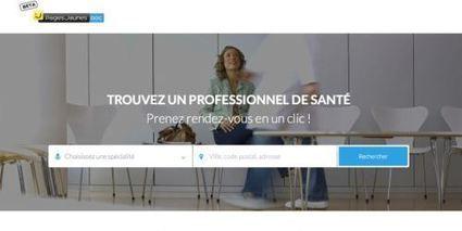 PagesJaunesDoc : service pour prendre en ligne ses rendez-vous médicaux | Entrepreneurship in e-health | Scoop.it