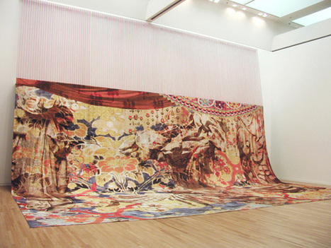 Aiko Tezuko - Untying Fabric | Art & Craft | Scoop.it