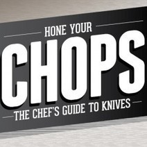 Hone Your Chops: The Chef's Guide to Knives | Visual.ly | Local Food Systems | Scoop.it
