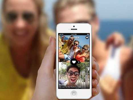 'Frontback' App Makes Selfies Meaningful By Taking A Pic Of You And The Thing You're Looking At Simultaneously | Mobile phone cameras changing how we take photographs | Scoop.it