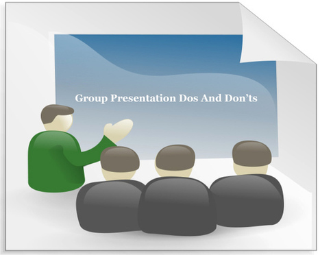 Group Presentation Dos And Don'ts | Free PowerPoint Templates 1 | Scoop.it