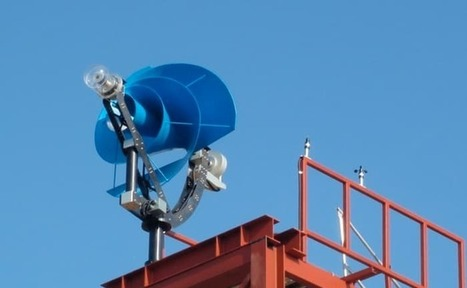 Screwy-looking wind turbine makes little noise and a big claim   Creativity & Innovation  for success   Scoop.it