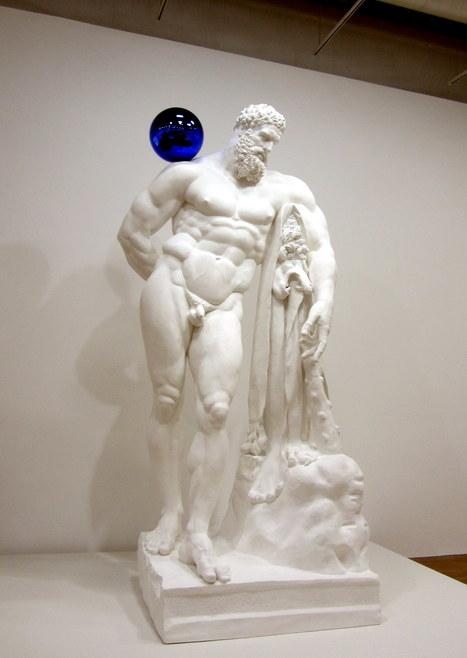 Jeff Koons: Gazing Ball (Farnese Hercules) | Art Installations, Sculpture, Contemporary Art | Scoop.it