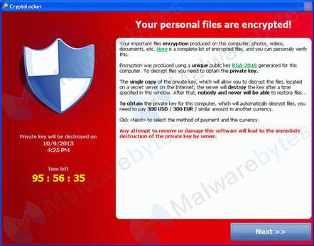 Cryptolocker : un virus demande une rançon pour vos fichiers | Stretching our comfort zone | Scoop.it