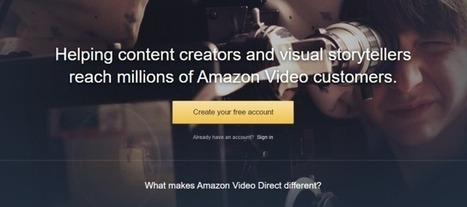 """Amazon Video Direct"" takes aim at the professional side of YouTube 