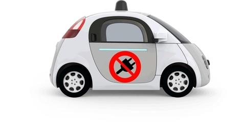 La voiture de Google n'aura pas besoin de prise pour se recharger | 694028 | Scoop.it