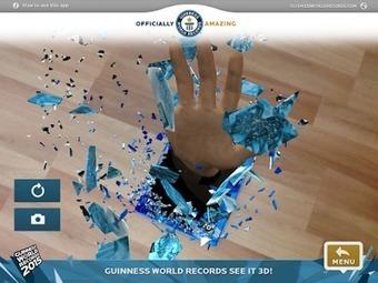 Prof Numéric: 10 applications de réalité augmentée pour les élèves   E-ducation & #Numerique   Scoop.it