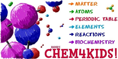 Rader's CHEM4KIDS.COM - Chemistry basics for everyone! | CLIL Resources & Tools - Herramientas y Recursos para AICLE | Scoop.it