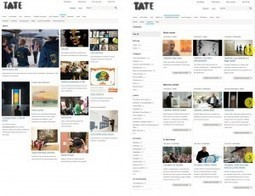 Meeting the Real User: Evaluating the Usability of Tate's Website | MW2013: Museums and the Web 2013 | Clic France | Scoop.it